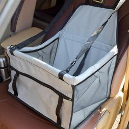Folding Pet Dog Cat Car Seat Safe Travel Carrier Handbag Bre