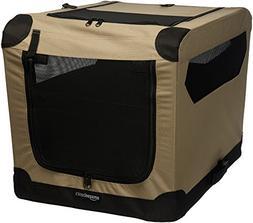"""AmazonBasics Folding Soft Dog Crate, 26"""""""