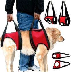Full Body Dog Lift Support Harness Injury Back Hip Assist Pe