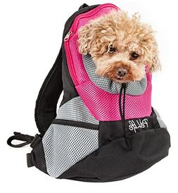 On-The-Go Supreme Travel Bark-Pack Backpack Pet Carrier, Pin