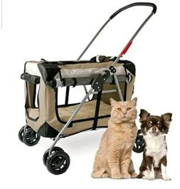 PetLuv Happy Cat Premium Soft Sided Foldable Top Side Loadin
