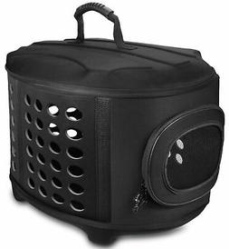 FRiEQ Hard Cover Pet Carrier - Pet Travel Kennel for Cats, S