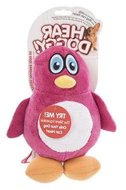 Hear Doggy No - Squeak - Plush Penquin - Lg: Pet Supplies