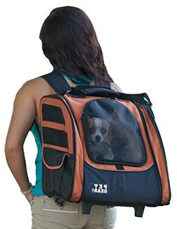 Pet Gear I-GO2 Traveler Roller Backpack for cats and dogs, C
