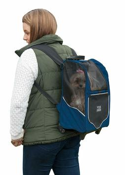 Pet Gear I-GO2 Roller Backpack And Tote Travel Carrier, Car