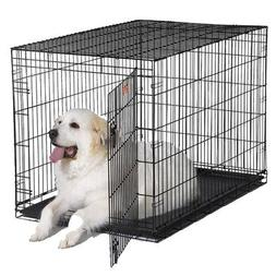 "iCrate Single-Door Dog Crate Size: X-Large - 48"" L x 30"" W x"
