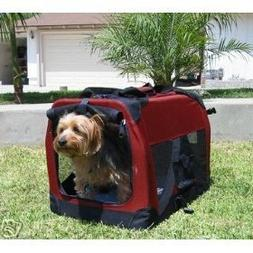 "30"" Ideal Soft Side Foldable Pet Crate/Carrier for Travel, I"