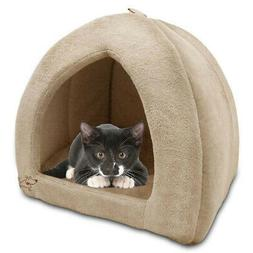 Indoor Dog House Bed Pet Soft Warm Cushion Pad Washable Cat