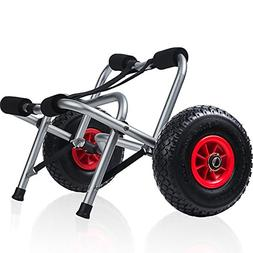 Kayak Cart Dolly Wheels Trolley - Kayaking Accessories Best
