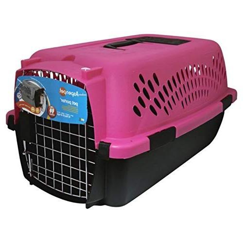 Aspen Pet Pet Carrier with Lock, 9 Sizes, 13 Colors