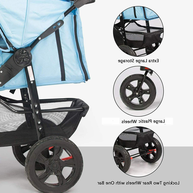 VILOBOS Stroller Jogger Folding Cup Holder