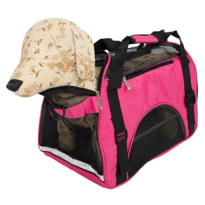 Airline Approved Carrier for Cats&Small Dogs with Shoulder