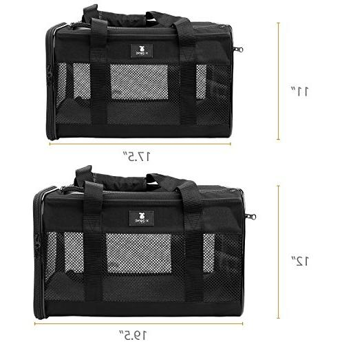 X-ZONE PET Airline Soft-Sided for Black