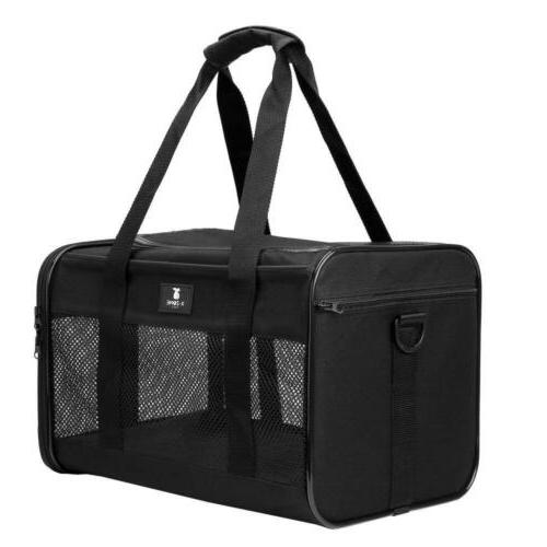 X-ZONE Approved Soft-Sided Pet Travel Carrier For Dogs