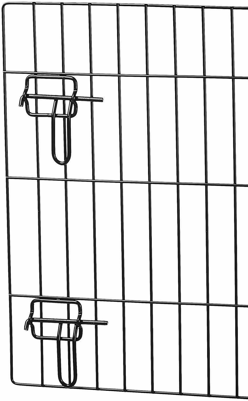 AmazonBasics Single Door Double Door Metal Dog Crate