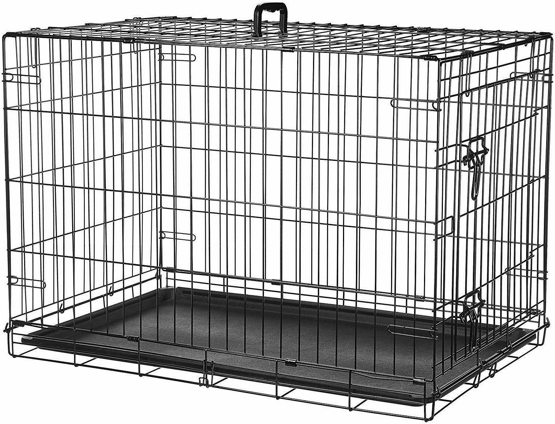 AmazonBasics Single Door Double Metal Dog Crate
