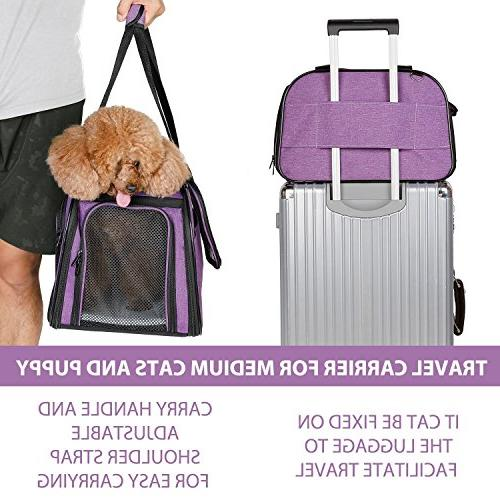 X-ZONE PET Pet for Airline Soft-Sided Travel for Puppies