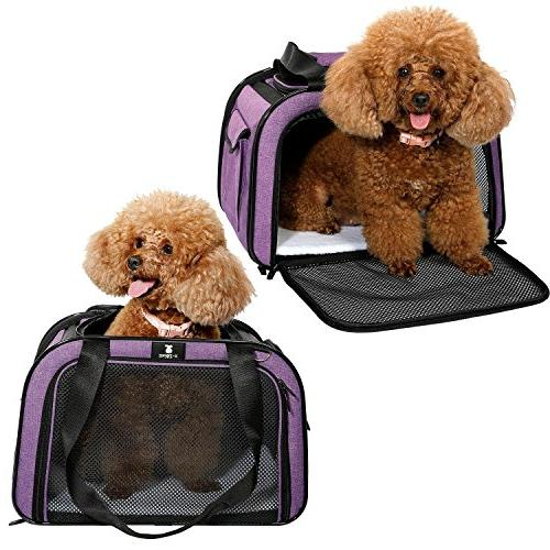 X-ZONE Pet for Airline Travel Kennel Puppies