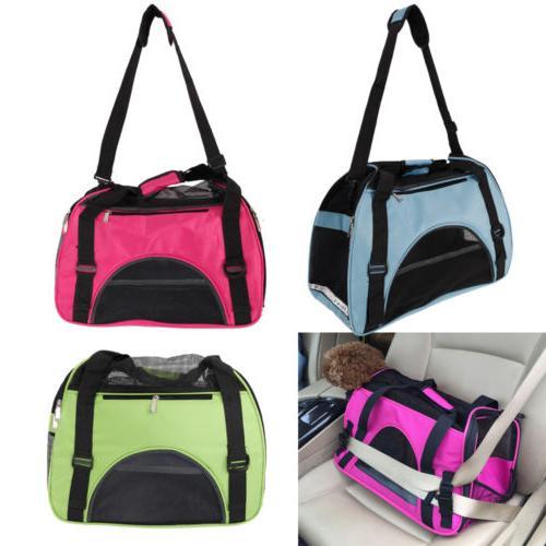 comfort pet dog nylon handbag carrier travel