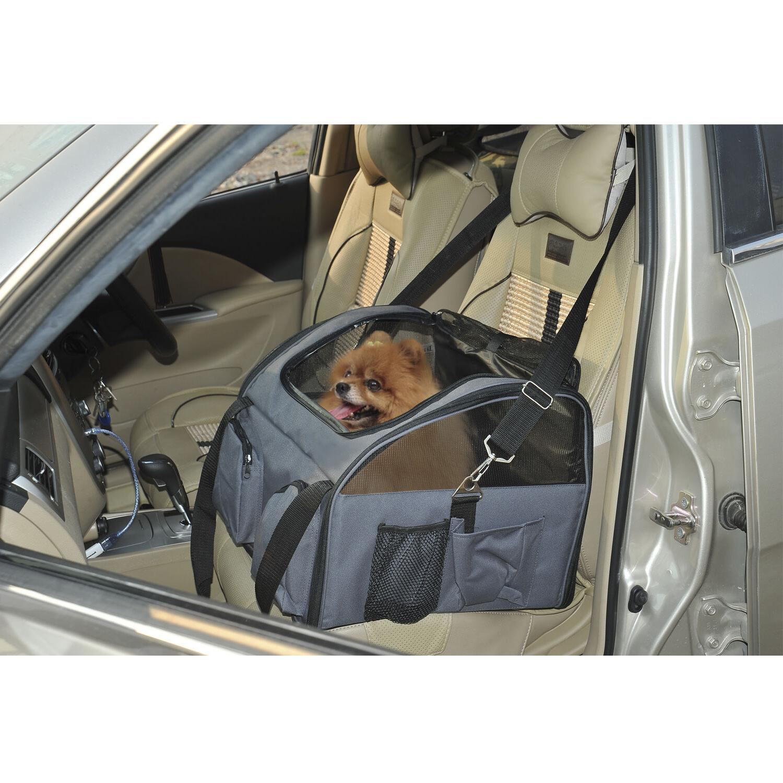 Dog Bag Cat Car Seat Handbag Portable