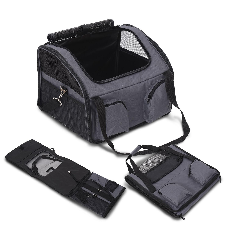 Dog Pet Cat Seat Travel Handbag Crate
