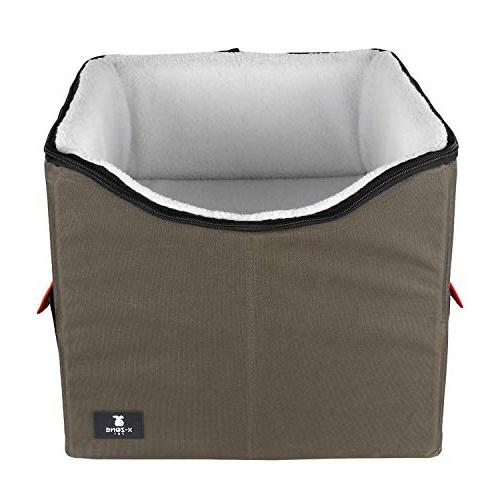 dog booster car seat bed