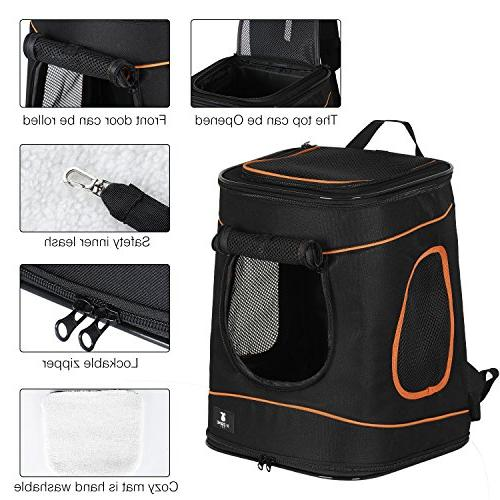 X-ZONE Hands Carrier Airline Approved Hiking Camping Backpack Up to 15