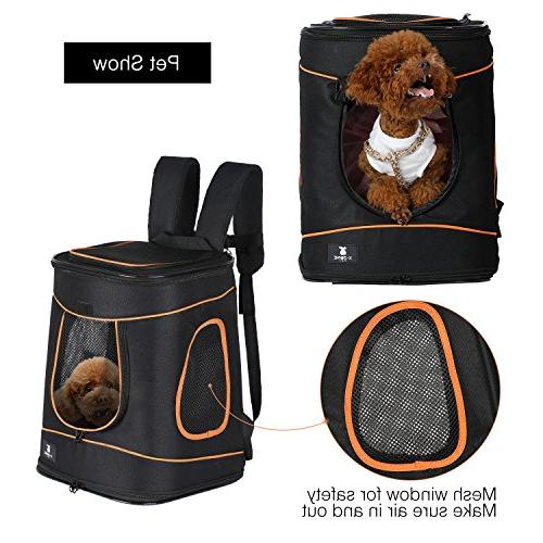 X-ZONE PET Hands Mesh Carrier Sided Approved Traveling Camping Up to 15