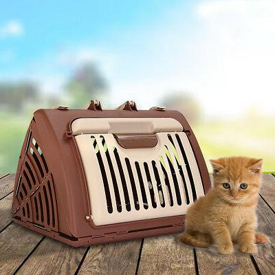 dog crate hard sided pet carrier foldable