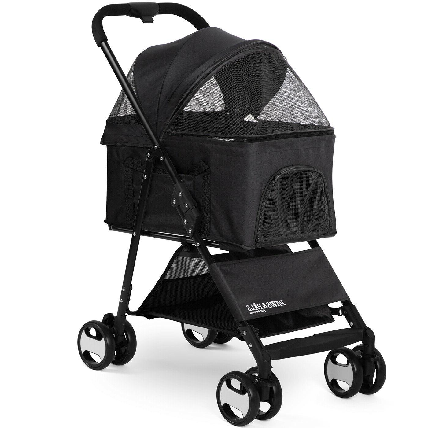 dog stroller pet travel carriage for dogs