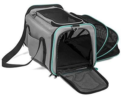 expandable and foldable pet carrier domestic airline