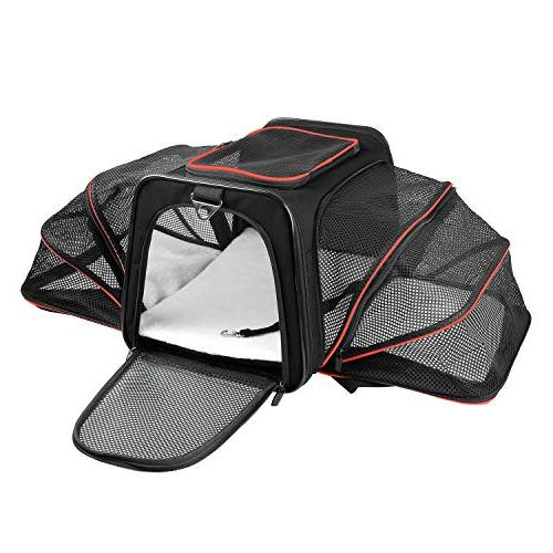 expandable dog carrier