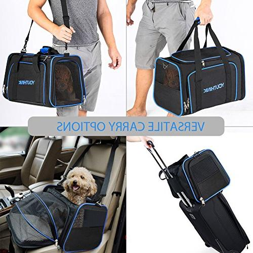 YOUTHINK Expandable for Dogs Soft Perfect Carrier with Removable