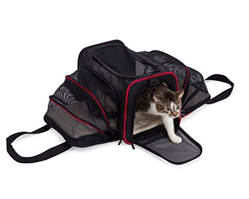 mypal Expandable Soft Pet Carrier, Carrier for Luggage. for Puppies, More!