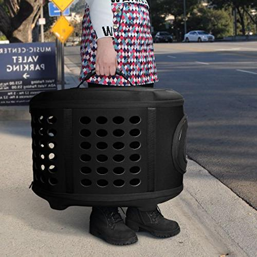 FRiEQ 23-Inch Large Cover Carrier Pet Travel Kennel Cats, Dogs Rabbits