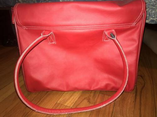 Luxury Dog/Cat/Pet Red Travel Bag Small Animals Up 22 Lbs