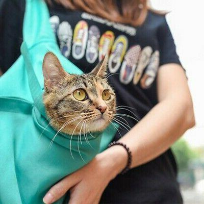 outdoor adjustable shoulder bag pouch travel pet