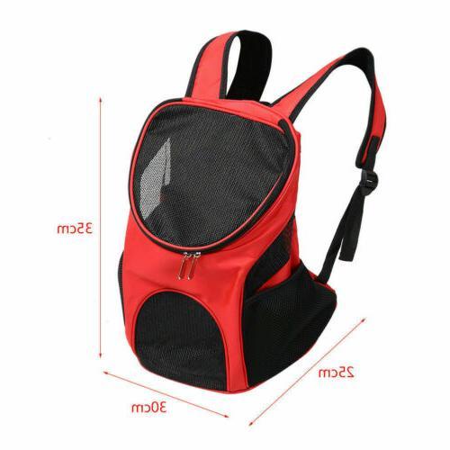 Shoulder Bag Dog Cat Backpack Travel Windows