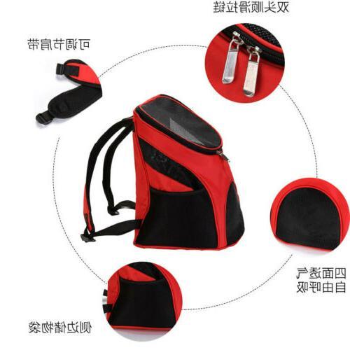 Outdoor Shoulder Dog Backpack Pet Mesh Windows