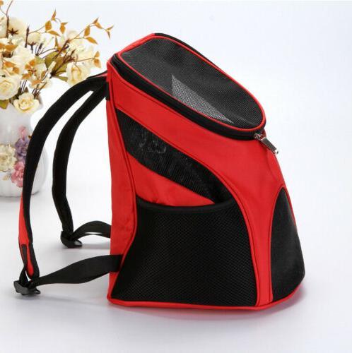 Outdoor Carrier Double Shoulder Backpack Pet Travel Windows
