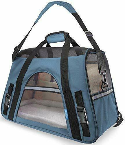 paws and pals airline pet carriers fleece