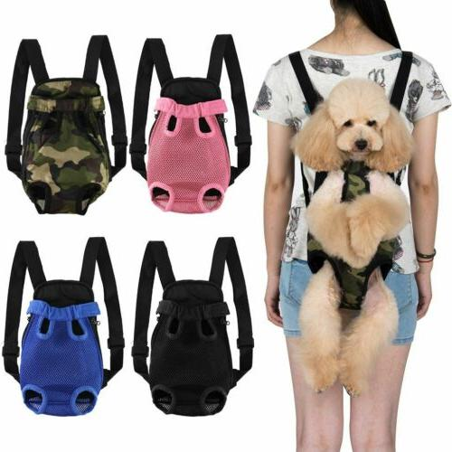 Small Pet Cat Puppy Dog Carrier Front Pack Hiking Travel Bac