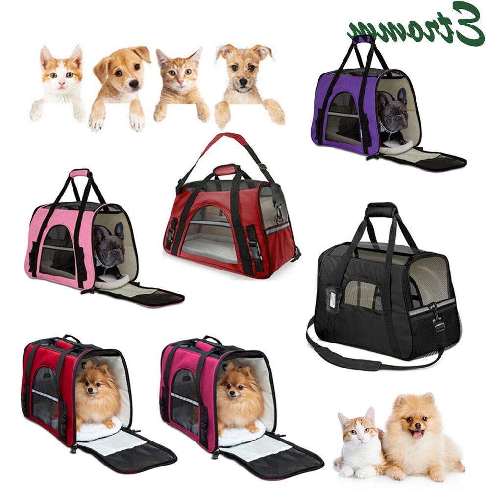 pet carrier bag travel case airline approved