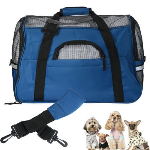 Pet Carrier Dog Cat Puppy Comfort Travel Mesh Carrier Bags