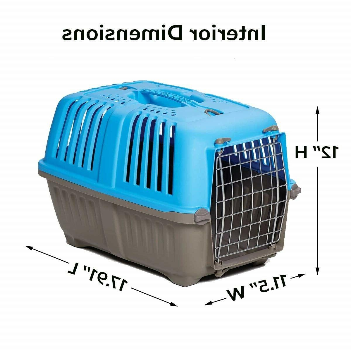 Eses Pet Carrier Dog Cat Traveling Handle Inch
