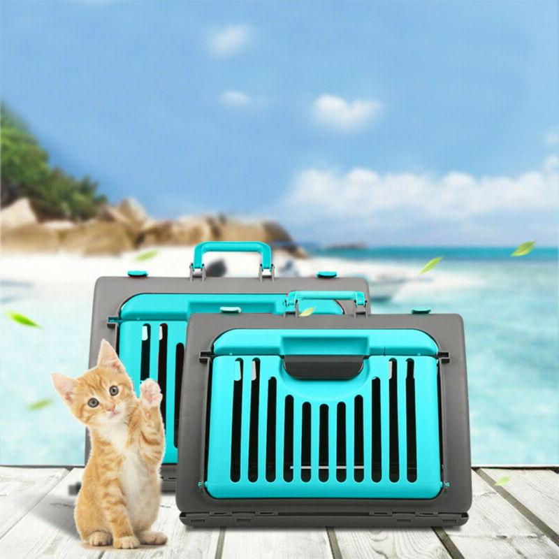 Foldable Cat Front Collapsible Carrier Plastic US