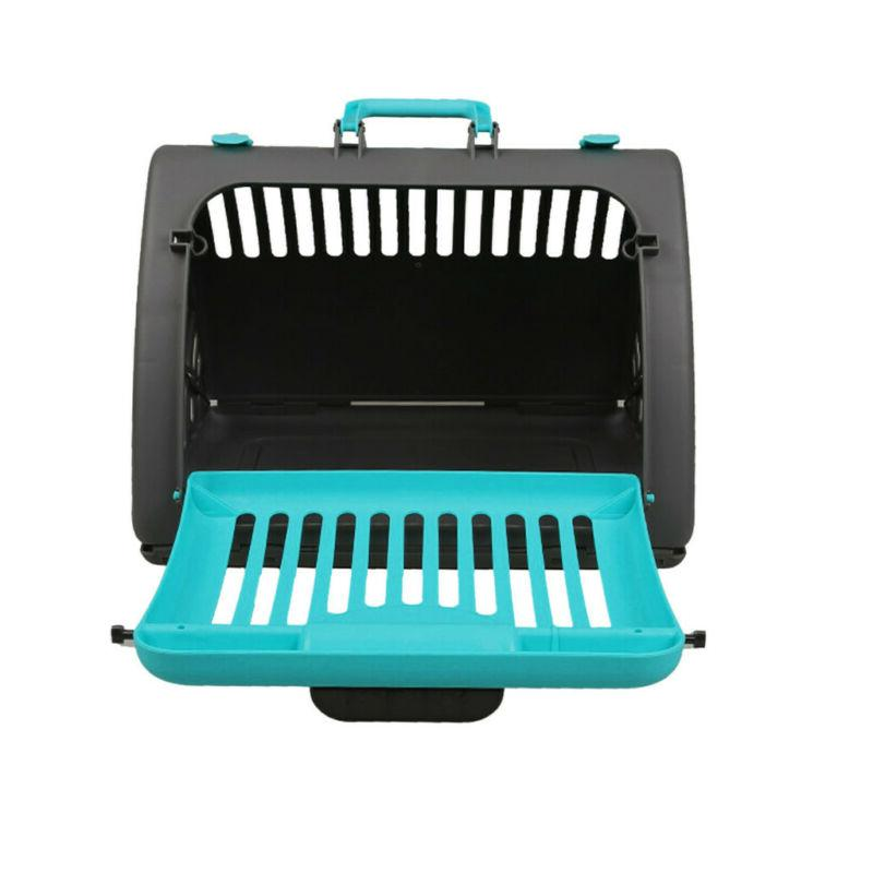 Foldable Cat Carrier Front Door Collapsible