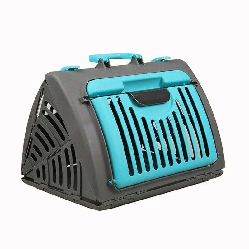 Foldable Cat Carrier Plastic Stock