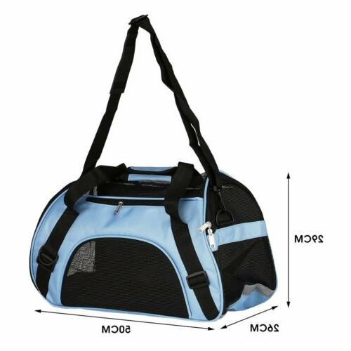 Pet Carrier Large Comfort Blue Bag Approved USA OY