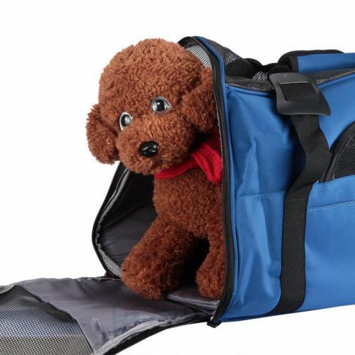 US Pet Carrier Sided Large Comfort Travel Bag Oxford Approv